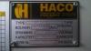 ohraňovací lis HACO 250/5000 CNC  VIII
